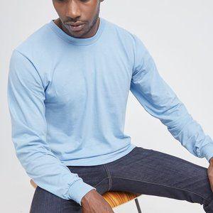 American Apparel - Fine Jersey Long Sleeve T-Shirt